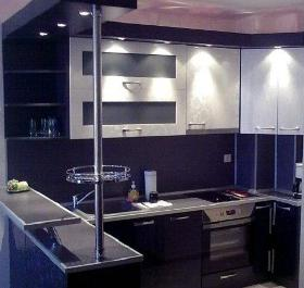 piccola illuminazione della cucina