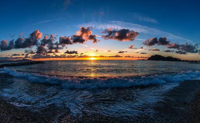 temperatura dell'acqua del mar Ligure
