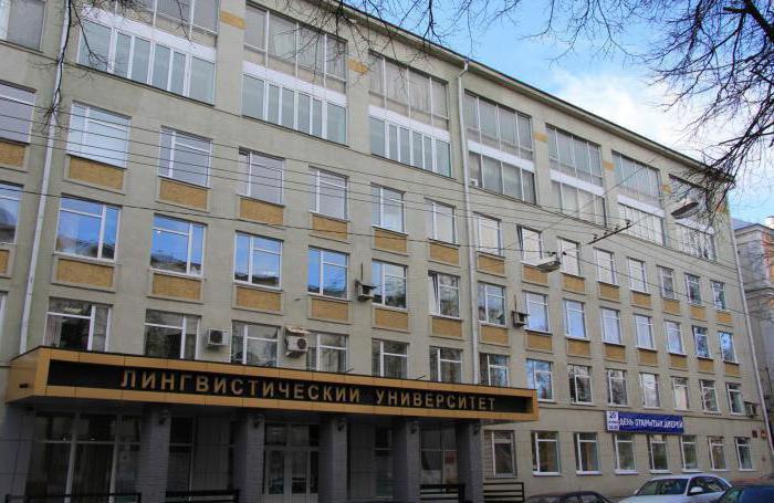 Università linguistica Nizhny Novgorod