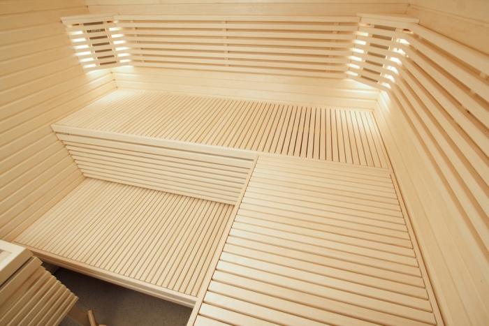 aspenová podšívka pro saunu