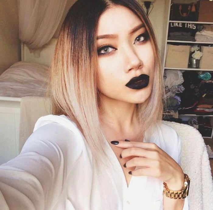 Crni ruž za usne