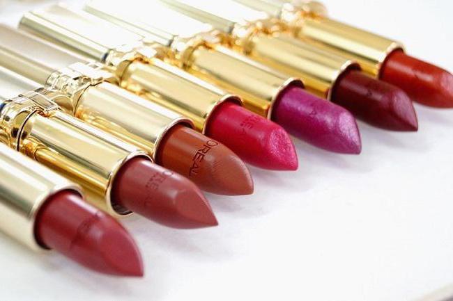 palette rossetto color loreal rish