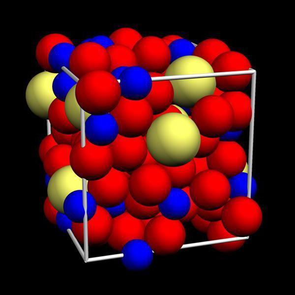 Struttura metallica liquida