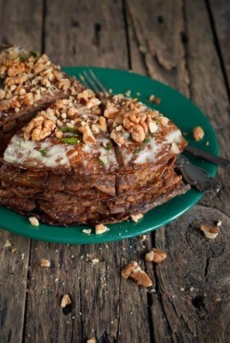 ricetta torta al fegato