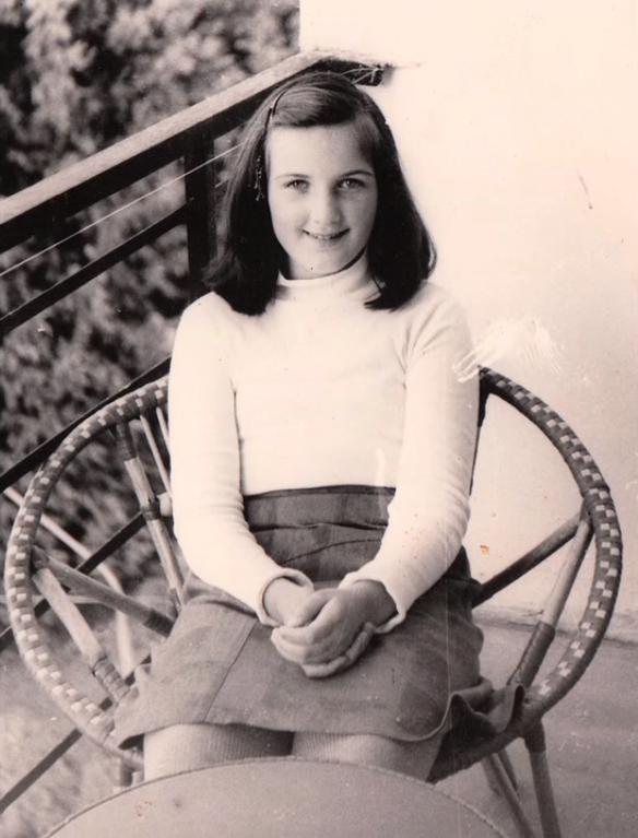 Младата Лера Левитина