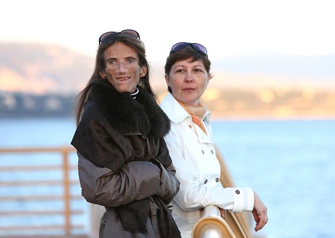 Levitina Valeria s mamom