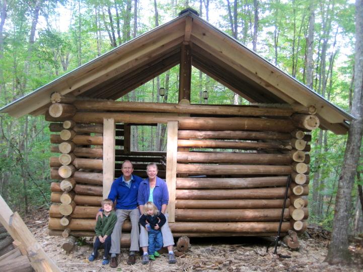 La costruzione di strutture da log