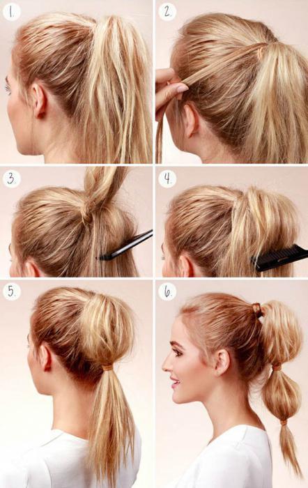 како направити буффант за дугу косу