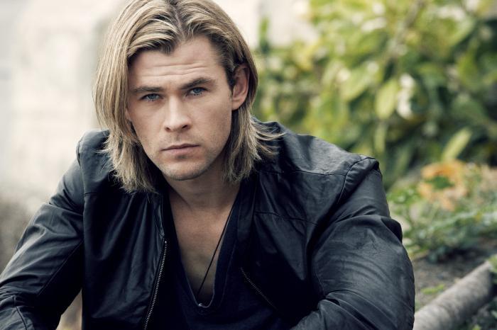 długie włosy dla mężczyzn