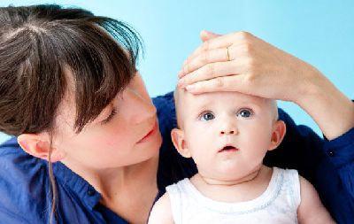 bassa temperatura in un bambino
