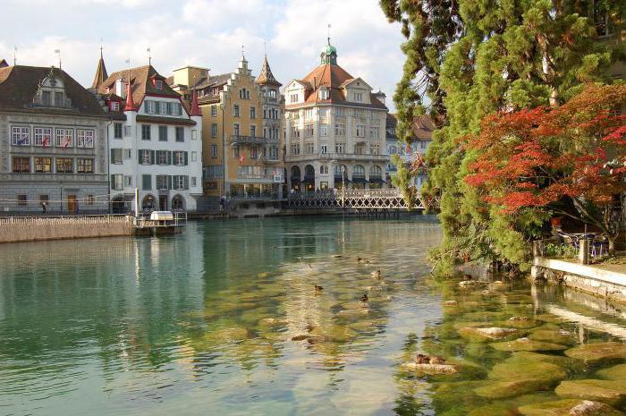 Lucerne Švýcarsko