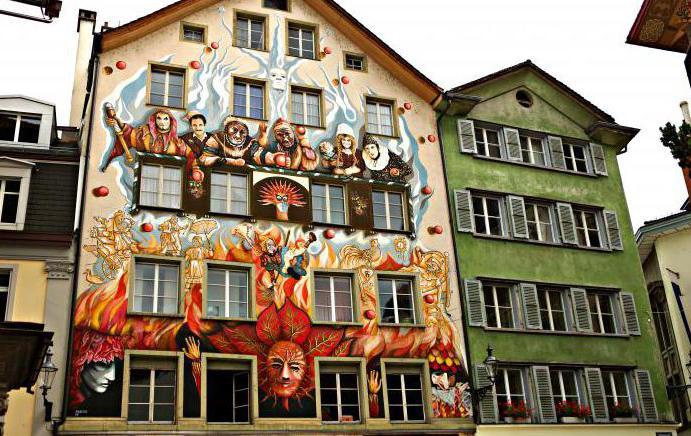 Lucerne City ve Švýcarsku