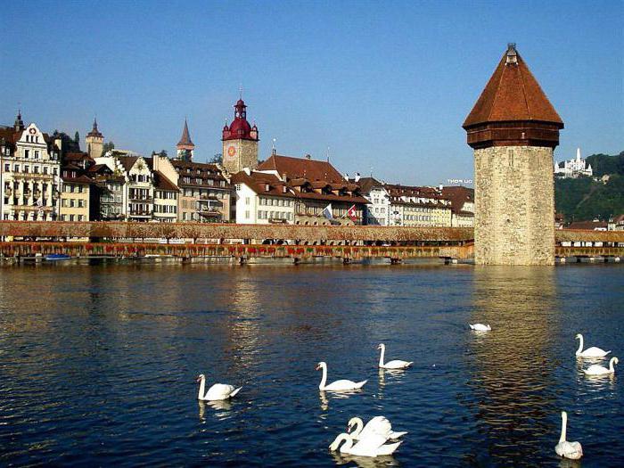 Švýcarsko Prohlídka Lucerne