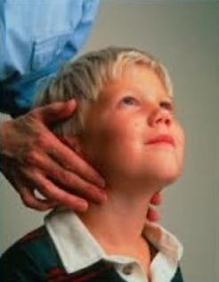 lymfatické uzliny v krku dítěte