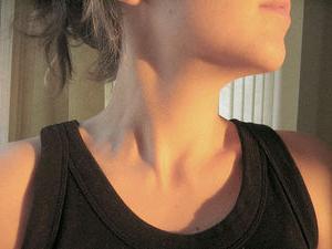 lymfatické uzliny v krku