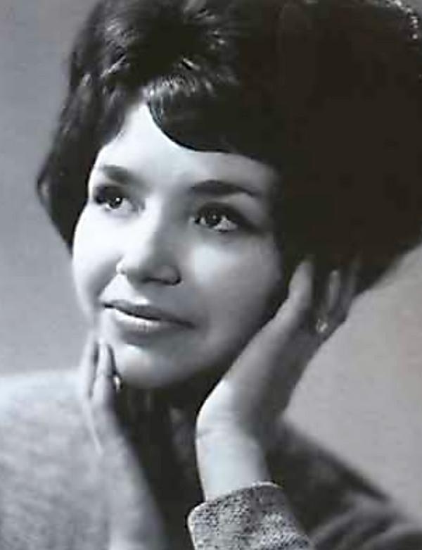 Лиудмила Виункова (Маликова) у младости