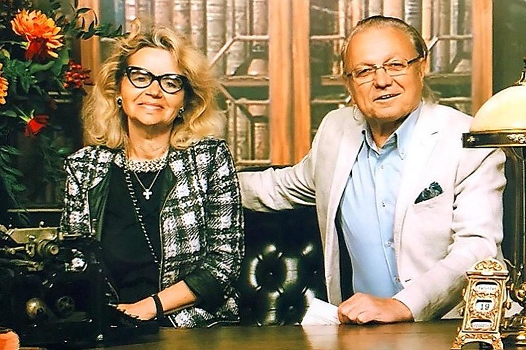 Лиудмила Виункова са мужем Јуријем Маликовим