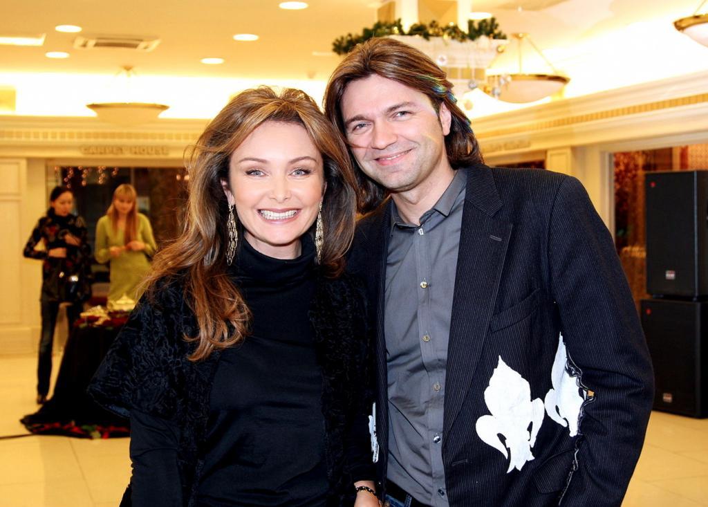Син Дмитриј Маликов са супругом Еленом