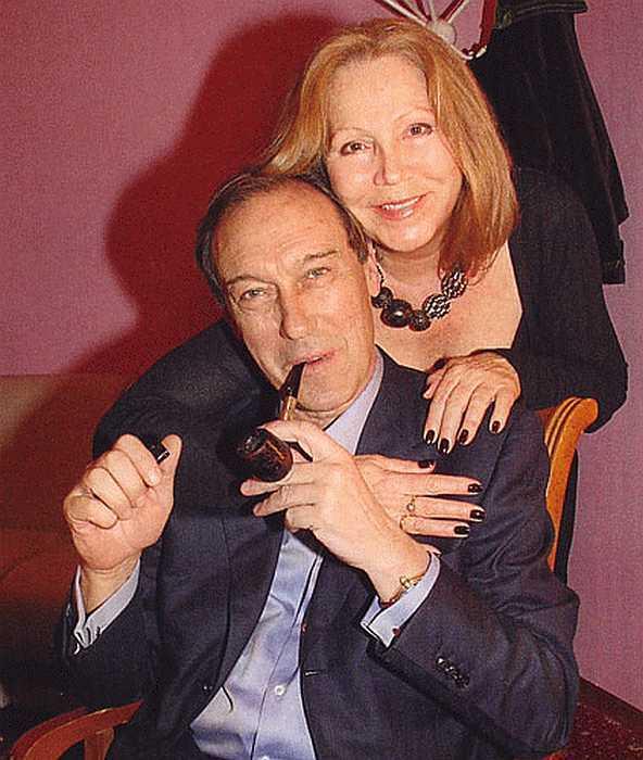 Олег Янковски и съпругата му