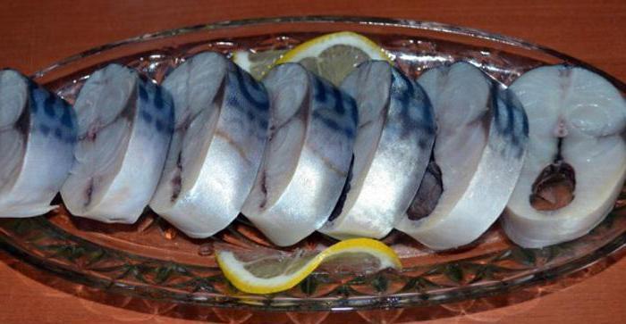 salatura sgombro in buccia di cipolla