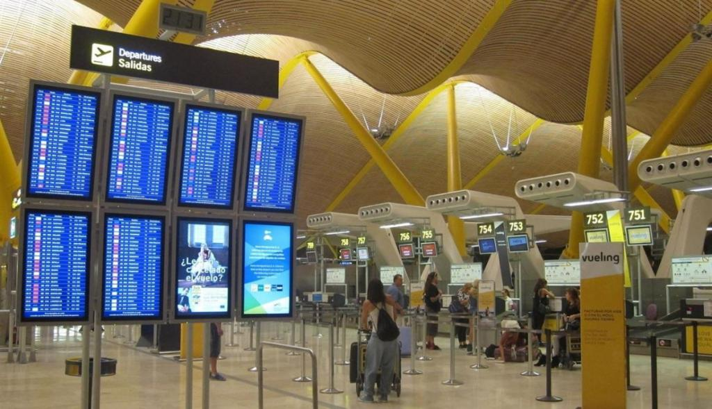 Aeroporto Barajas di Madrid