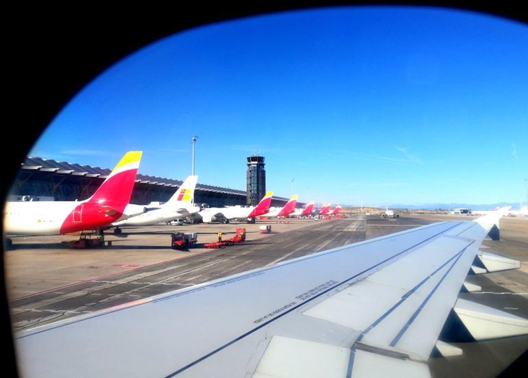 Terminal T4 Airport di Madrid