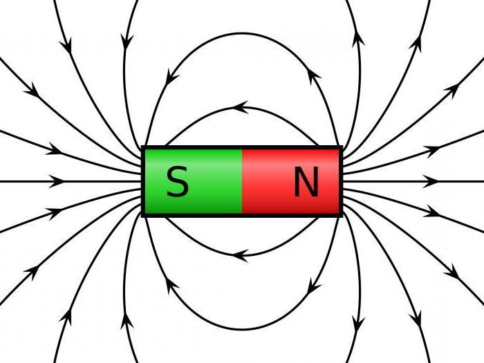 forza del campo magnetico