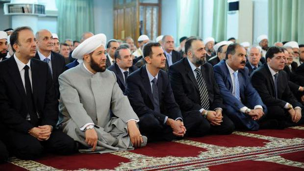Мюсюлманите празнуват празника