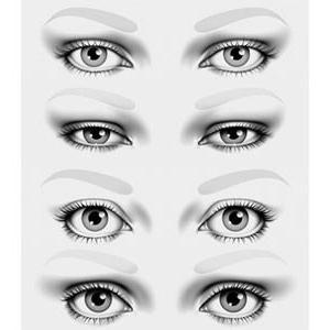 другачији облик очију