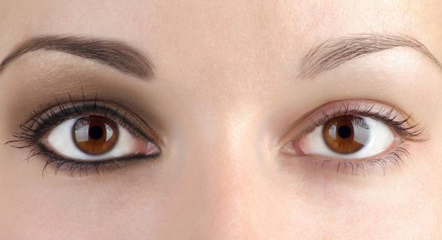 фотографија облика ока