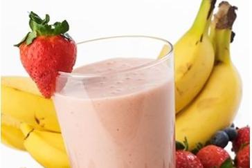 frullato di proteine shake muscolare