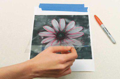 vytváření šablony s vlastními rukama