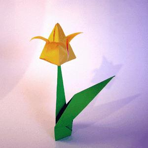 obrti s papirnatimi cvetovi
