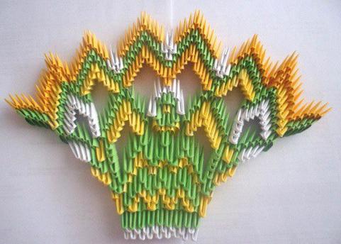moduli origami pavone