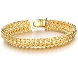 bracciale da uomo in oro