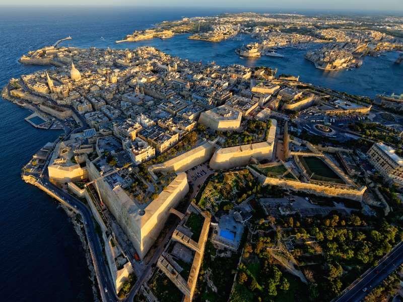 Letiště Malta: Valletta