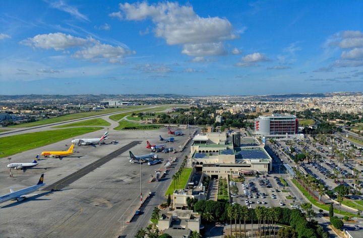 Jméno letiště v Maltě