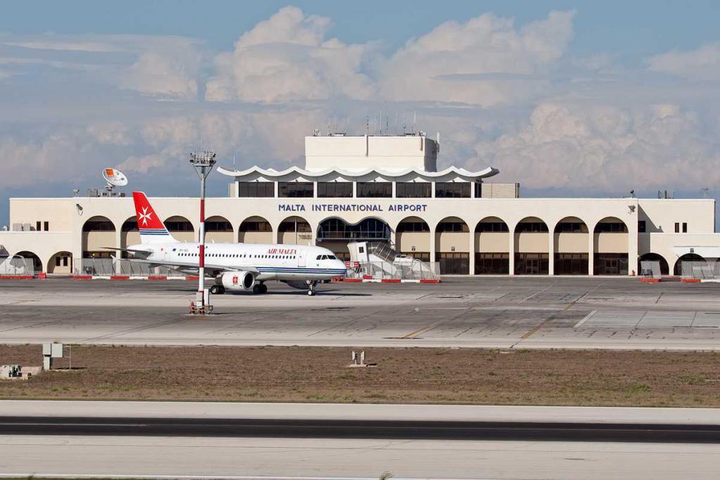 Letiště luka malta