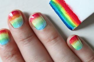 come fare una manicure alle ombre