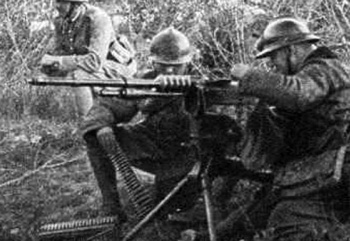 Пистолет Hotchkis 1914