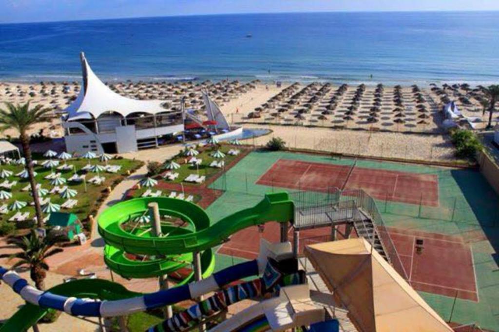 Plaża i baseny Marabout Aquapark