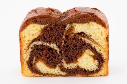 recept na mramorový dort v hrnečku