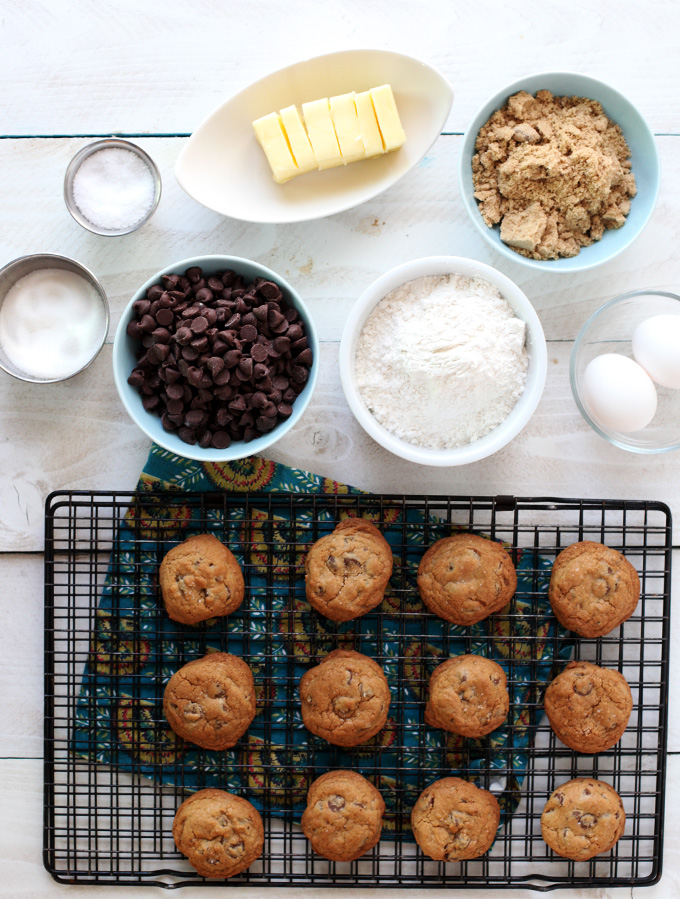 ingredienti del biscotto