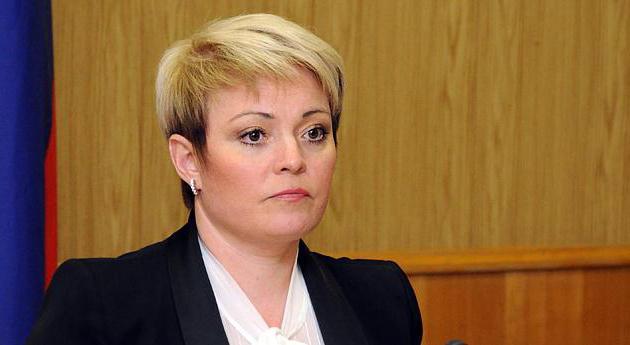 Governatore della regione di Murmansk Marina Kovtun