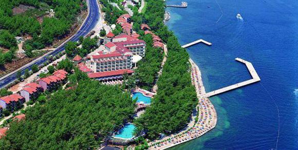hotel sulla spiaggia di Marmaris