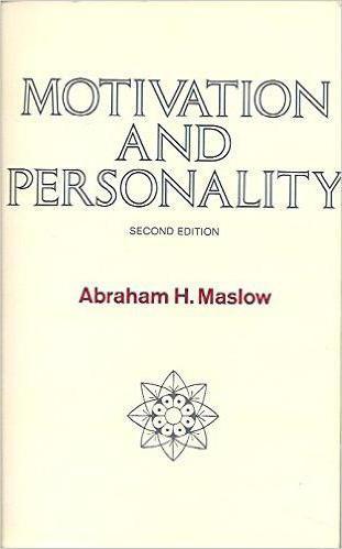 motivazione del libro e olio di Abraham della personalità