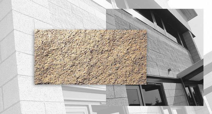 pareti di blocchi aggregati leggeri