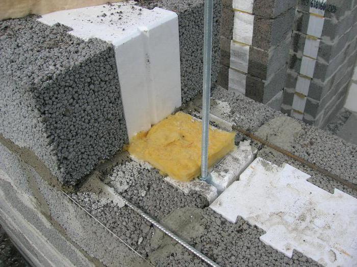 tecnologia di posa a blocchi di argille