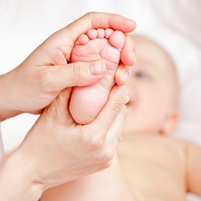 масаж на краката