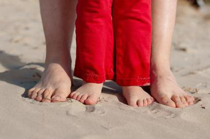 масаж за надлъжна плоска стъпка при деца
